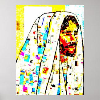 Affiche d'art moderne de Jésus