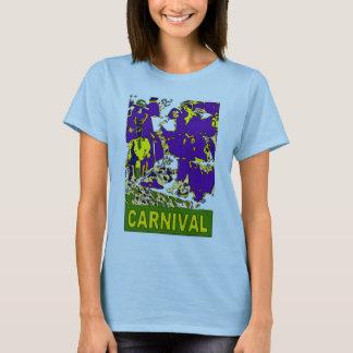 Affiche de carnaval t-shirt