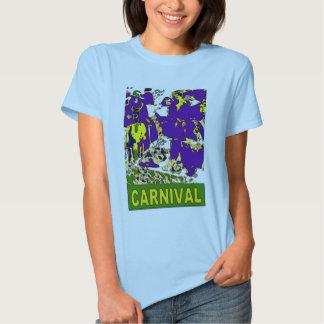 Affiche de carnaval tee shirts