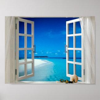 affiche de fenêtre