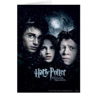 Affiche de film de Harry Potter Carte De Vœux