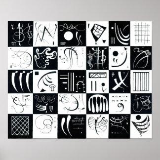 Affiche de Kandinsky trente