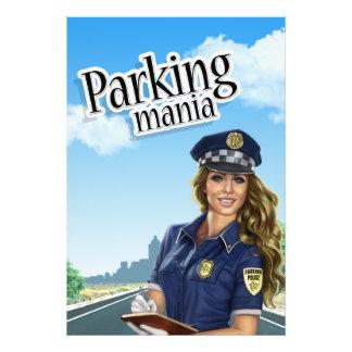 Affiche de manie de stationnement photos