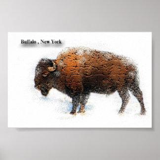 Affiche de New York de Buffalo