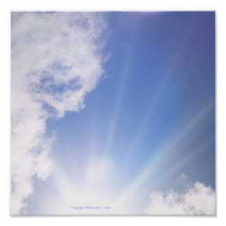 affiche de nuage
