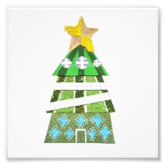 Affiche de photo d'arbre de Noël