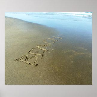 Affiche de plage