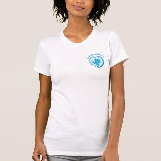 Affiche de sensibilisation sur l'autisme t-shirt