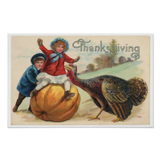 Affiche de thanksgiving poster