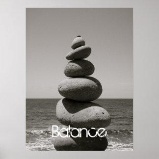Affiche d'équilibre