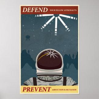 Affiche dixième de propagande de jeu électronique