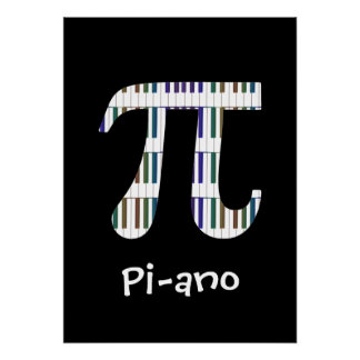 Affiche drôle de geek de musique de maths de ~ de