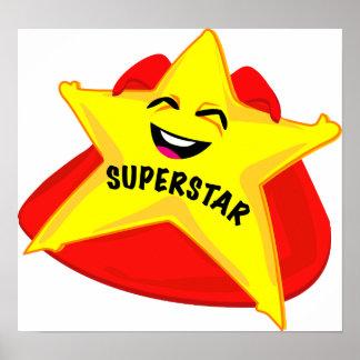 affiche humoristique de superstar !