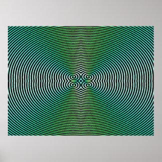 Affiche hypnotique poster