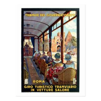 Affiche italienne de voyage des années 1920 cartes postales