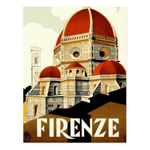 Affiche italienne vintage de tourisme carte postale