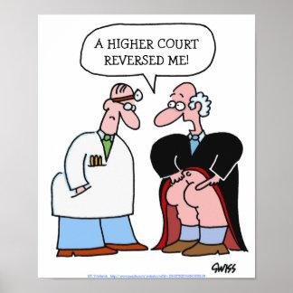 Affiche médicale humoristique de bureau