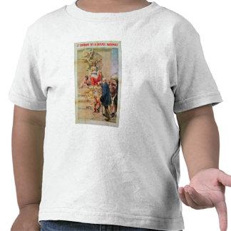 Affiche pour le deuxième prêt pour la défense nati t-shirts