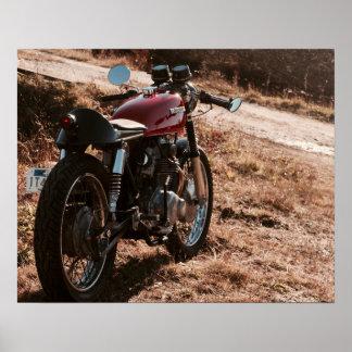 Art de moto vintage