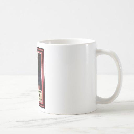 Affiche vintage 15 de voyage mug