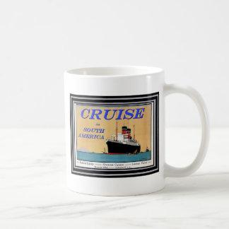 Affiche vintage 26 de voyage mug