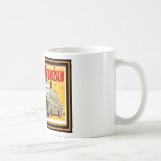 Affiche vintage 33 de voyage mug