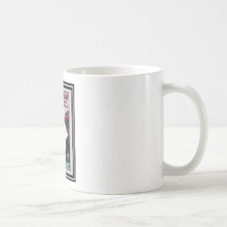 Affiche vintage 44 de voyage mugs à café