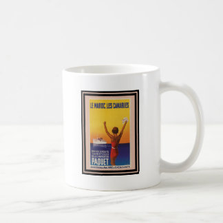 Affiche vintage 45 de voyage mugs