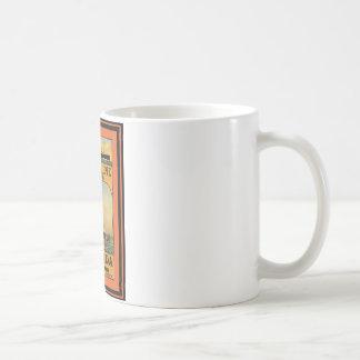 Affiche vintage 49 de voyage tasse à café