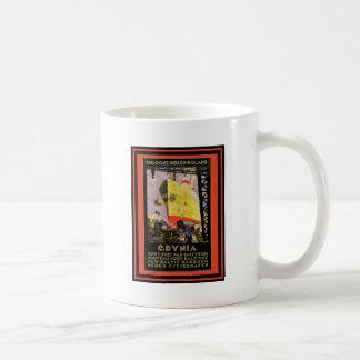 Affiche vintage 56 de voyage mug à café