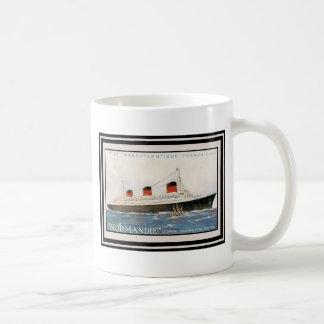 Affiche vintage 71 de voyage mugs à café