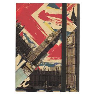 Affiche vintage de Londres de visite