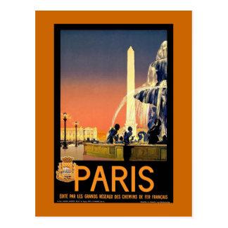 cartes postales vintage de Paris
