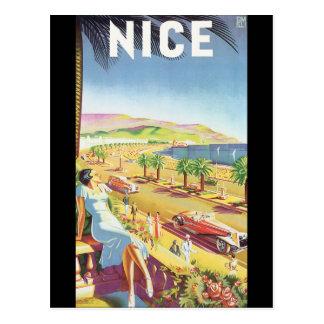 Affiche vintage gentille de voyage carte postale