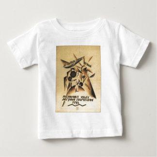 Affiches de propagande d'Union Soviétique de T-shirt Pour Bébé