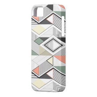 Afrikaans vector gestreept Hoesje Iphone Barely There iPhone 5 Hoesje