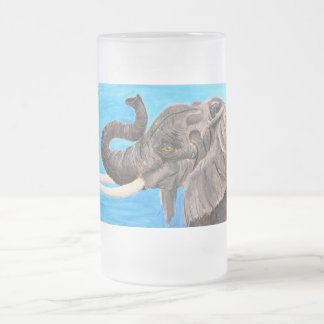 Afrikaanse reus matglas bierpul