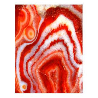 Agate d'orange sanguine de Falln Cartes Postales