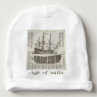 Âge des voiles bonnet pour bébé