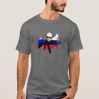 Agent Poutine avec la carte T-shirt