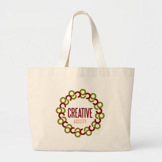agilité créative grand tote bag