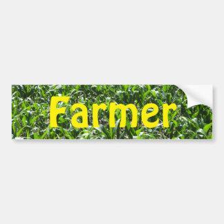 Agriculteur Autocollant De Voiture
