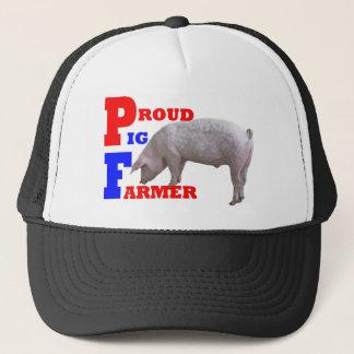 Agriculteur de porc casquette