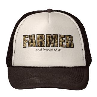 Agriculteur et fier de lui ! casquettes de camionneur