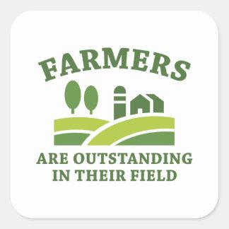 Agriculteurs Sticker Carré