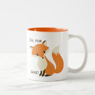 Ah, dans l'intéret de Fox Mug Bicolore