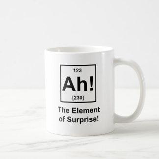 Ah ! L'effet de surprise Mug Blanc