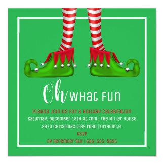 Ah, quelle invitation de fête de Noël d'amusement