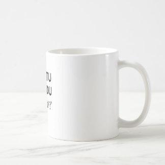 Ah, tu fais du dessin ? mug