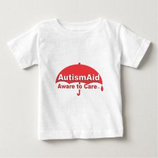 Aide d'autisme avertie au soin t-shirt pour bébé